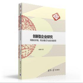 创新型企业研究:网络化环境,商业模式与成长路径 清华汇智文库