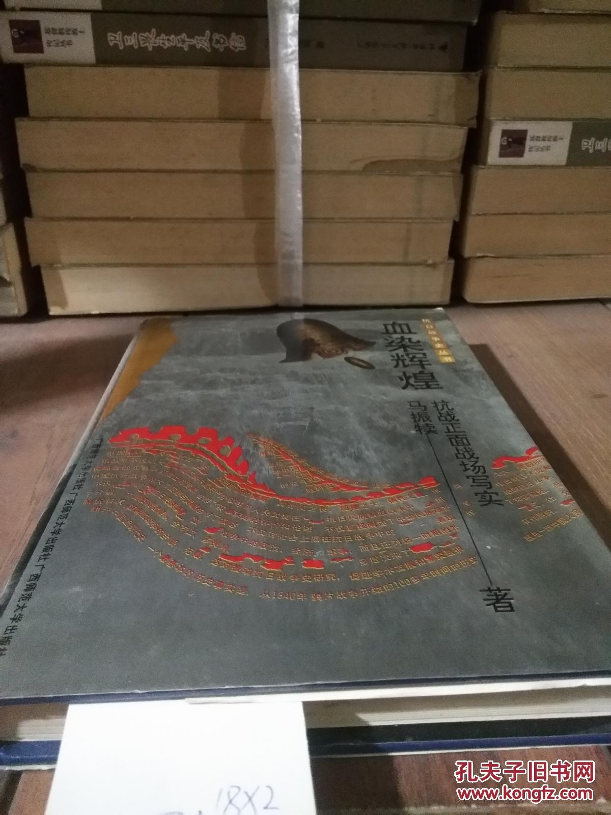 抗日战争史丛书:血染辉煌——抗战正面战场写实,  精装本