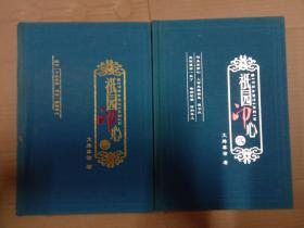 .祇园印心【一、二册合售、硬精装】文殊摩诘(谈晋玮居士)