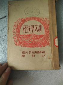 新文学教程(民国26年初版35年再版)馆藏书 品相如图避免争议