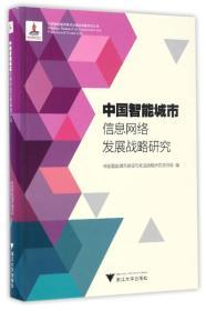 中国智能城市信息网络发展战略研究