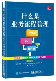 什么是业务流程管理(修订版)