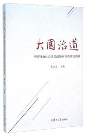 大国治道 中国特色社会主义战略布局的理论视域 朱之文 复旦