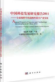 中国科技发展研究报告2011:全球视野中的战略性新兴产业发展