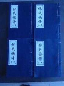 林氏族谱 【汶上 看图描述】【4本】