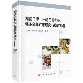 湘南千里山-骑田岭地区锡多金属矿床研究与找矿勘查