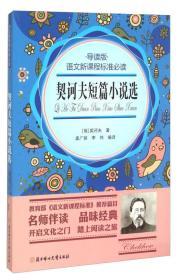正版】语文新课程标准必读。导读版--契诃夫短篇小说选