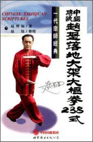 中国传统赵堡落地大架太极拳238式