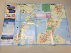 广西北部湾经济区防城港市地图。