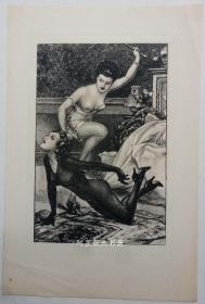 法国早期照相腐蚀版情色插图A