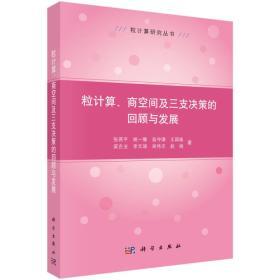 粒计算研究丛书:粒计算、商空间及三支决策的回顾与发展