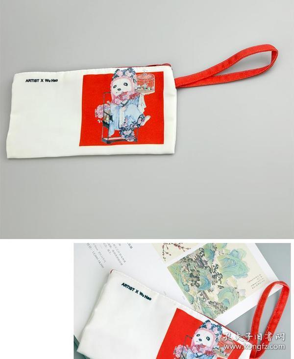 大來文化拉鏈文件袋帆布考試筆袋子小號產檢發票據零錢袋小手拿包