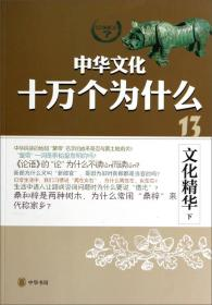 中华文化十万个为什么:文化精华(下)