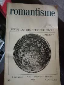 珍藏图书 英文原版  正版现货  romantisme   浪漫主义