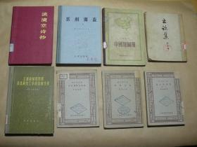 淡漬堂詩抄 (精裝,1991年1版1印)2018.4.17上