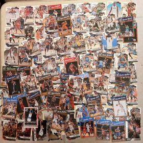 原版 篮球明星卡球星卡收藏(100张合售、品好)看图