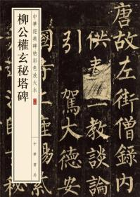中华经典碑帖彩色放大本:柳公权玄秘塔碑