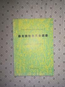 崩龙族社会历史调查