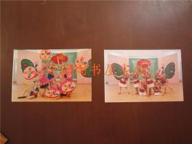 广西南宁青少年活动中心 少儿舞蹈演出照片 2张合售(15x10cm)