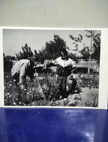沂蒙山区孤儿调查原创黑白照。大尺寸。作者。中国摄影协会会员。王守卫