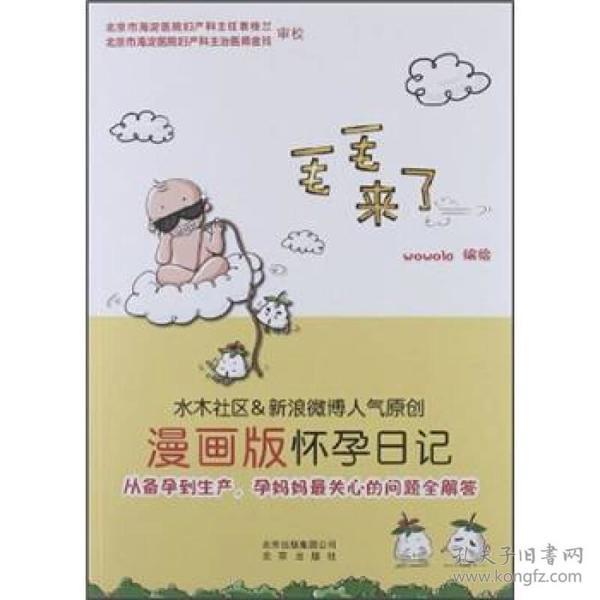 毛毛来了:漫画版怀孕日记