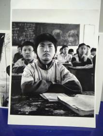 沂蒙山区孤儿调查原创黑白照。大尺寸。作者。中国摄影协会会员。王守卫。