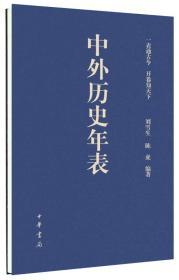 中外历史年表
