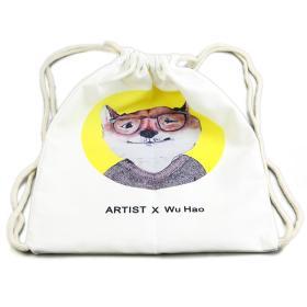 大来文化 双肩包 帆布袋 创意个性包包 包邮3