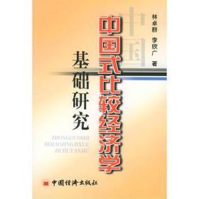 中国式比较经济学基础研究