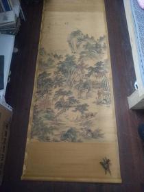 著名画家吴光宇《京都》尺寸180*65,保真,壬寅年小阳月作,喜欢可详谈