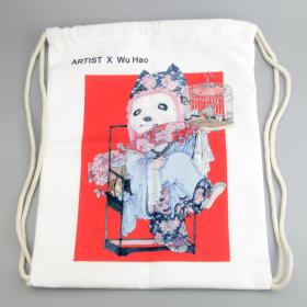 大来文化 双肩包 帆布袋 创意个性包包 包邮2