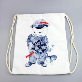 大来文化 双肩包 帆布袋 创意个性包包 包邮