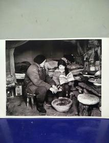 10沂蒙山区孤儿调查原创黑白照。大尺寸。作者。中国摄影协会会员。王守卫