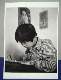 12沂蒙山区孤儿调查原创黑白照。大尺寸。作者。中国摄影协会会员。王守卫
