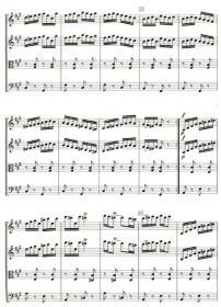 弦乐合奏外国通俗作品集