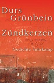 德文 德语 Zündkerzen: Gedichte 格仁拜因 诗集