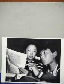 16沂蒙山区孤儿调查原创黑白照。大尺寸。作者。中国摄影协会会员。王守卫