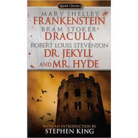 WW9780451523631微残-污渍-英文版-Frankenstein Dracula Dr Jekyll and Mr Hyde