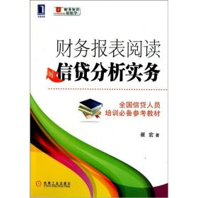 财务报表阅读与信贷分析实务