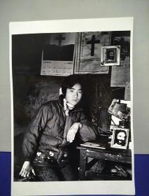 18沂蒙山区孤儿调查原创黑白照。大尺寸。作者。中国摄影协会会员。王守卫