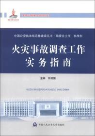 中国公安执法规范化建设丛书:火灾事故调查工作实务指南