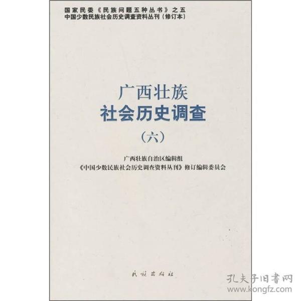 广西壮族社会历史调查6