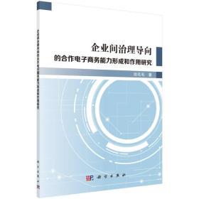 企業間治理導向的合作電子商務能力形成和作用研究