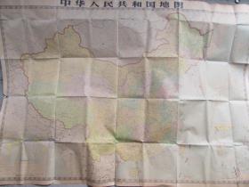 中华人民共和国地图(1980年4月第8版,1983年10月山西第29次)