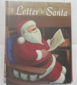 精装 A Letter to Santa ((NEW COPY))  给圣诞老人的一封信((新版))