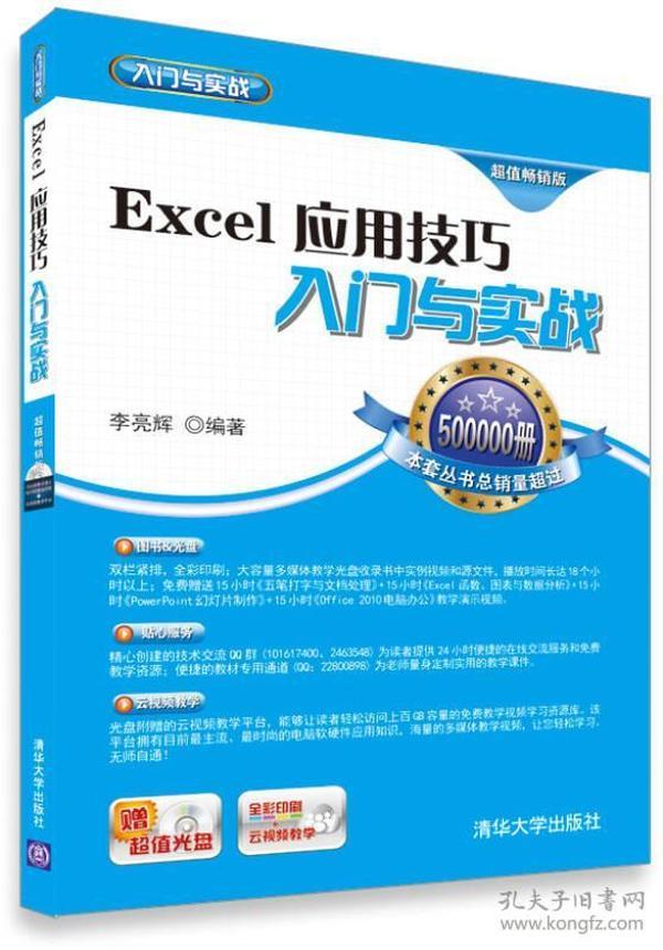 Excel应用技巧入门与实战(超值畅销版)