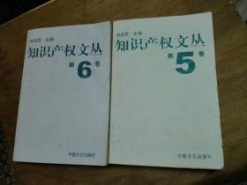 知识产权文丛 第5卷 + 第5卷   两本合售