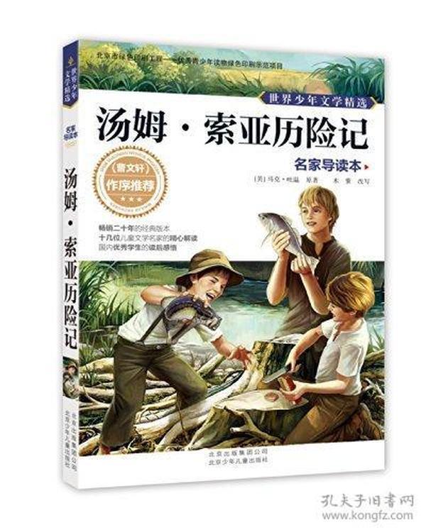世界少年文学精选·名家导读本:汤姆·索亚历险记