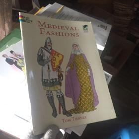 Medieval Fashions Coloring Book (History of Fashion)