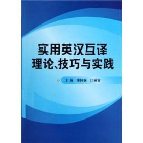 实用英汉互译理论、技巧与实践